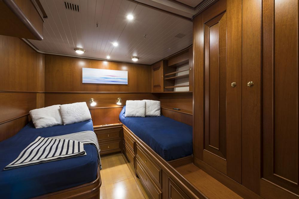 ALEXIA - Luxury Sailing Yacht For Sale - 3 Twin Cabins - Img 1 | C&N