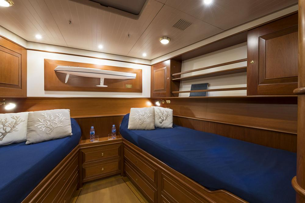 ALEXIA - Luxury Sailing Yacht For Sale - 3 Twin Cabins - Img 3 | C&N