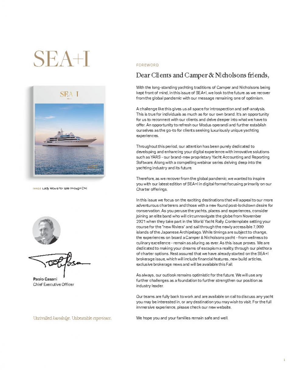 Issue 41 - SEA+I - Page 3 | C&N