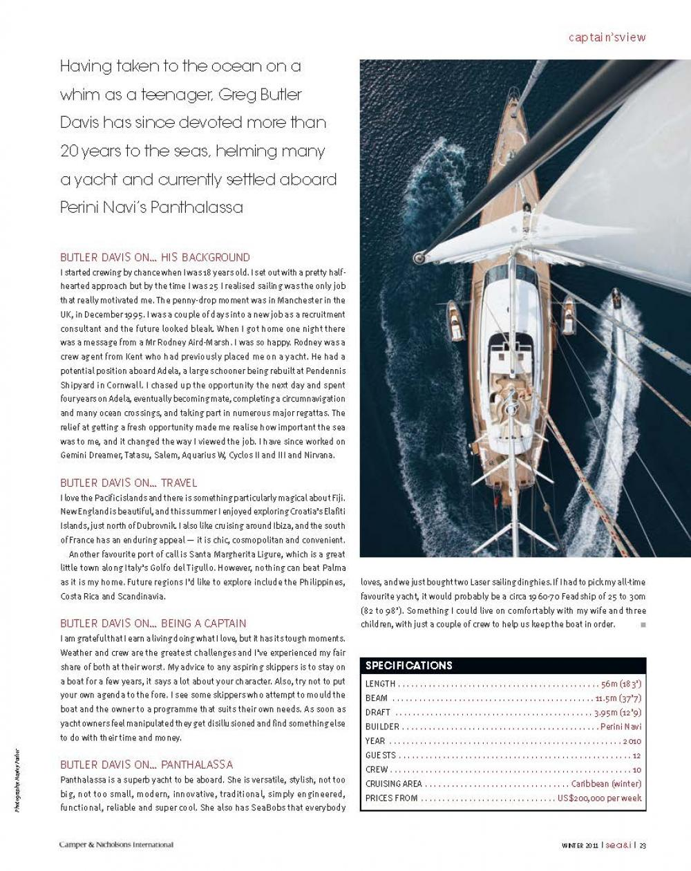 ISSUE 20 - SEA+I - Page 25 | C&N