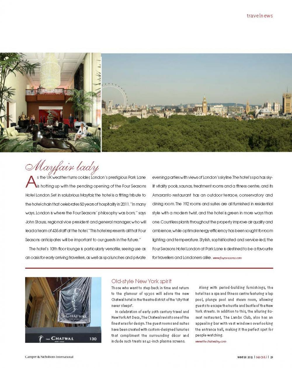 ISSUE 20 - SEA+I - Page 31 | C&N