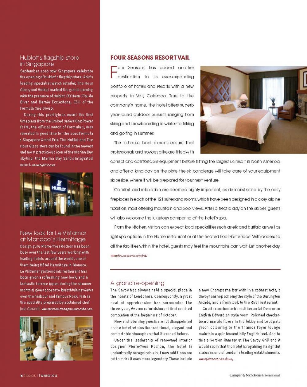 ISSUE 20 - SEA+I - Page 32 | C&N