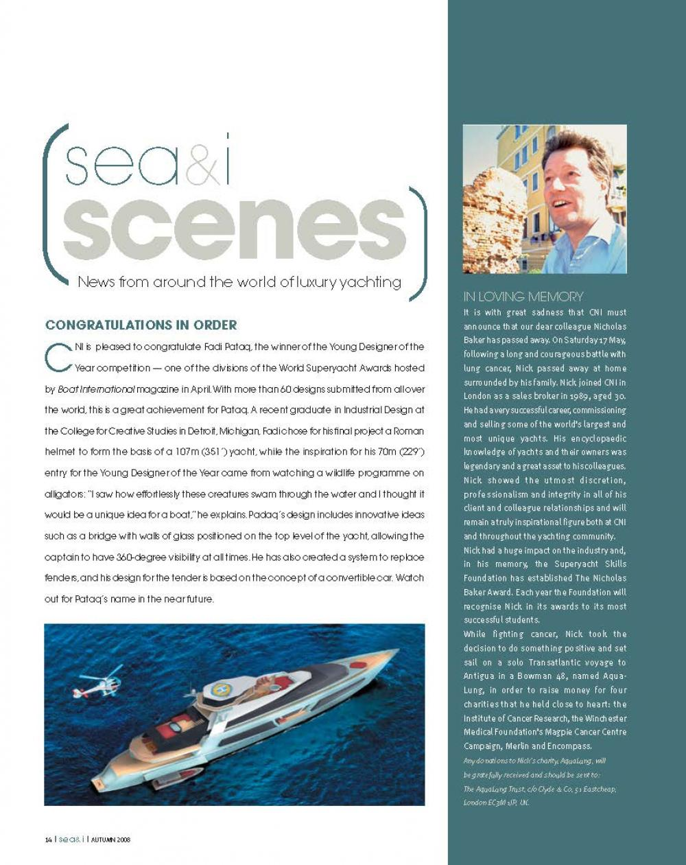 ISSUE 13 - SEA+I - Page 16 | C&N