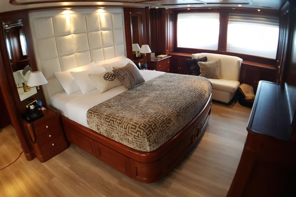 BRUNELLO - Luxury Motor Yacht For Charter - 1 VIP CABIN - Img 1 | C&N