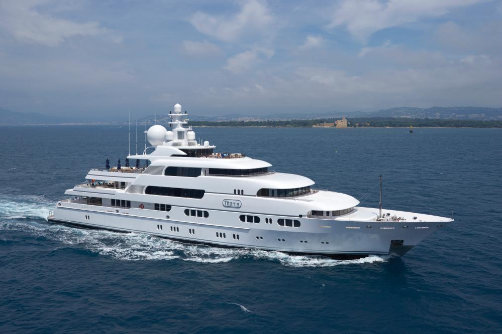 TITANIA - Luxury Motor Yacht for Charter | C&N
