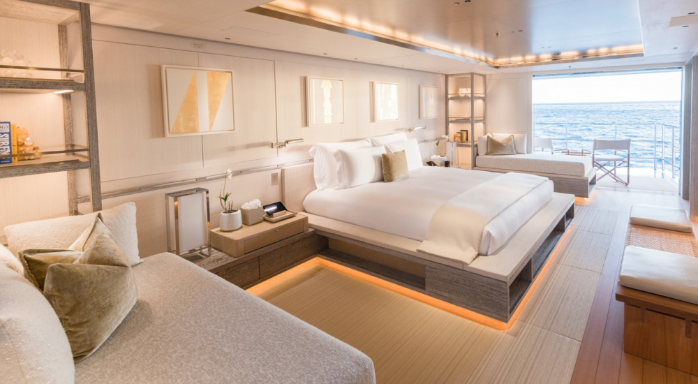 Driftwood - Luxury Motor Yacht For Charter - 1 MASTER CABIN - Img 2 | C&N