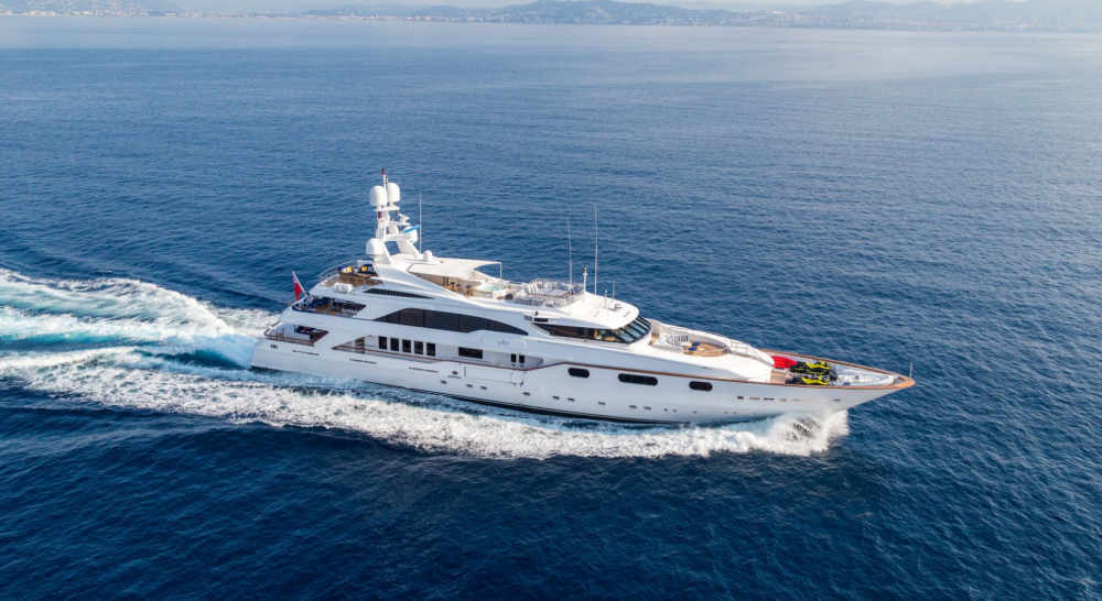 Air - Luxury Motor Yacht for Charter | C&N