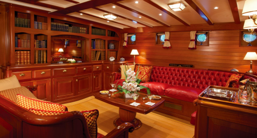 Elena - Luxury Sailing Yacht For Charter - Interior Design - Img 1 | C&N