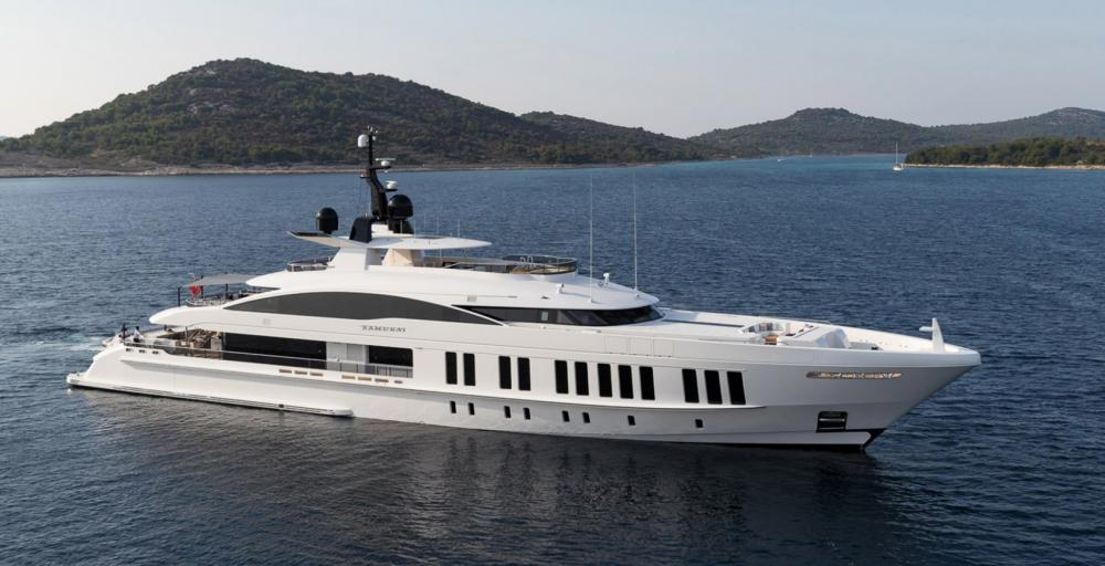 SAMURAI - Luxury Motor Yacht for Charter | C&N