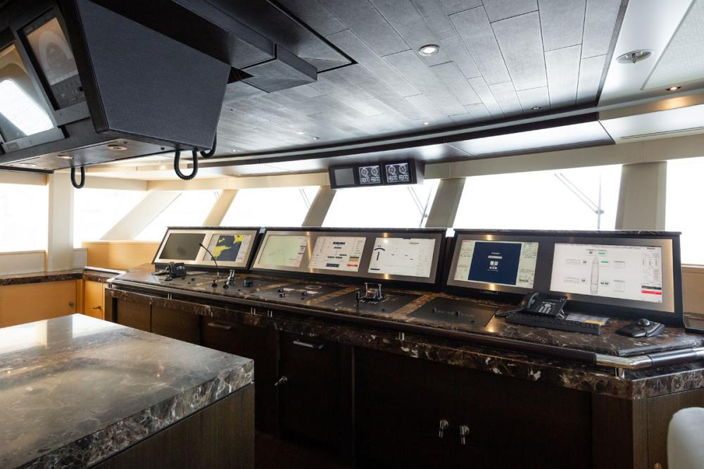 TRANQUILITY - Luxury Motor Yacht For Sale - Pilothouse - Img 1 | C&N