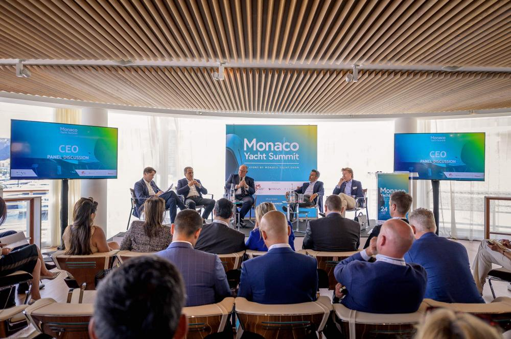 Paolo Casani and Sacha Williams Present at the Monaco Yacht Show Summit 2019 - Industry - Img 1 | C&N