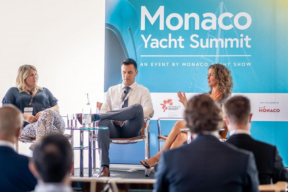 Paolo Casani and Sacha Williams Present at the Monaco Yacht Show Summit 2019 - Industry - Img 2 | C&N