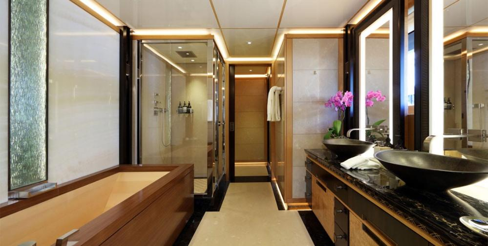 FORMOSA - Luxury Motor Yacht For Charter - One Twin Cabin on lower deck - Img 4 | C&N