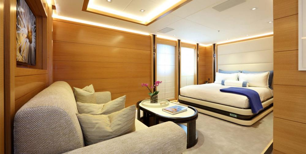 FORMOSA - Luxury Motor Yacht For Charter - One Twin Cabin on lower deck - Img 6 | C&N