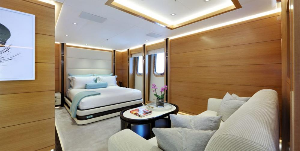 FORMOSA - Luxury Motor Yacht For Charter - One Twin Cabin on lower deck - Img 8 | C&N