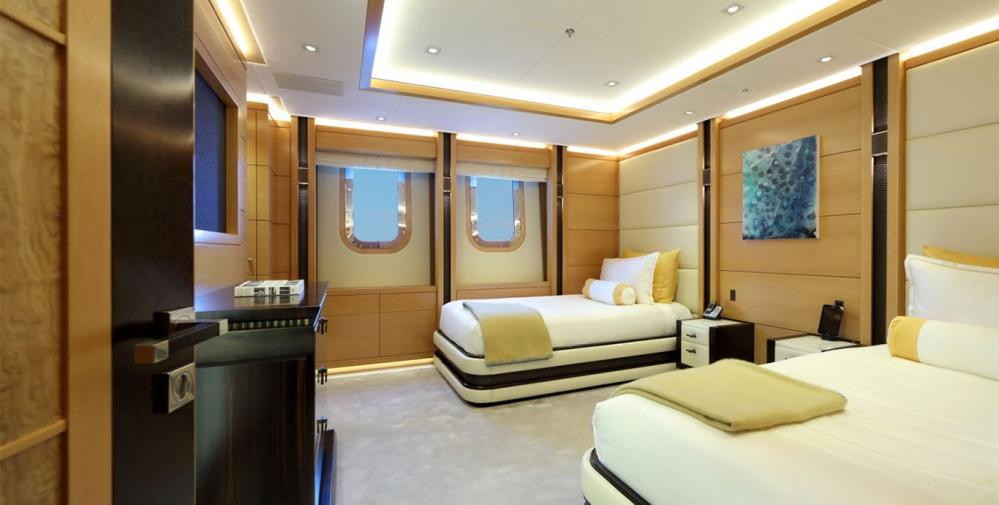FORMOSA - Luxury Motor Yacht For Charter - One Twin Cabin on lower deck - Img 9 | C&N
