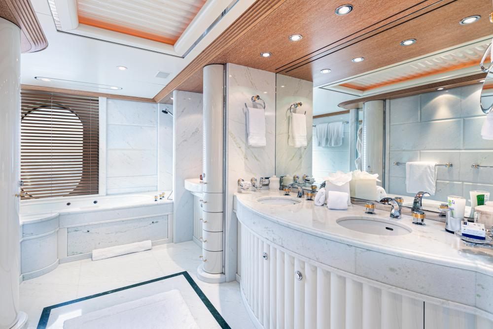 SEA HUNTRESS - Luxury Motor Yacht For Sale - On deck master stateroom - Img 3 | C&N