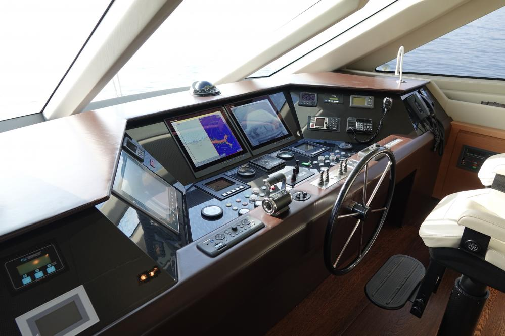 IL GATTOPARDO - Luxury Motor Yacht For Sale - Pilothouse - Img 2 | C&N