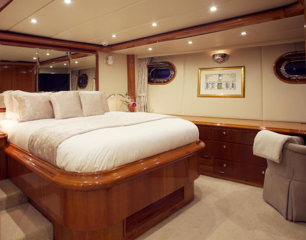 REE - Luxury Sailing Yacht For Sale - Master Cabin - Img 1 | C&N
