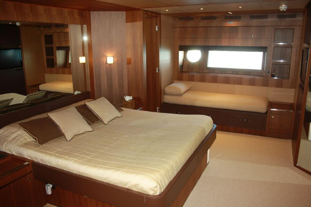 TAURUS - Luxury Motor Yacht For Sale - 1 MASTER CABIN - Img 1 | C&N