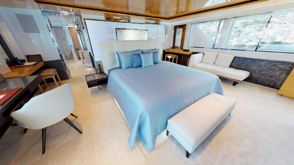 LA PELLEGRINA 1 - Luxury Motor Yacht For Charter - Master Suite - Img 3 | C&N