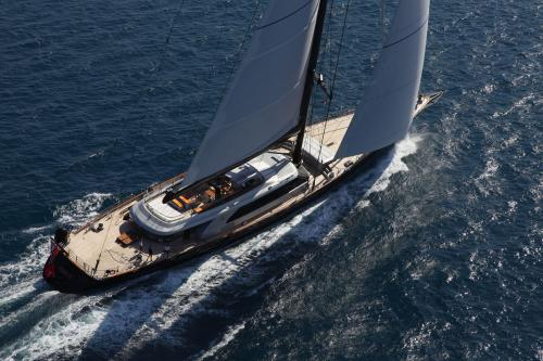 PERSEUS3 - Luxury Sailing Yacht For Charter - Exterior Design - Img 1 | C&N