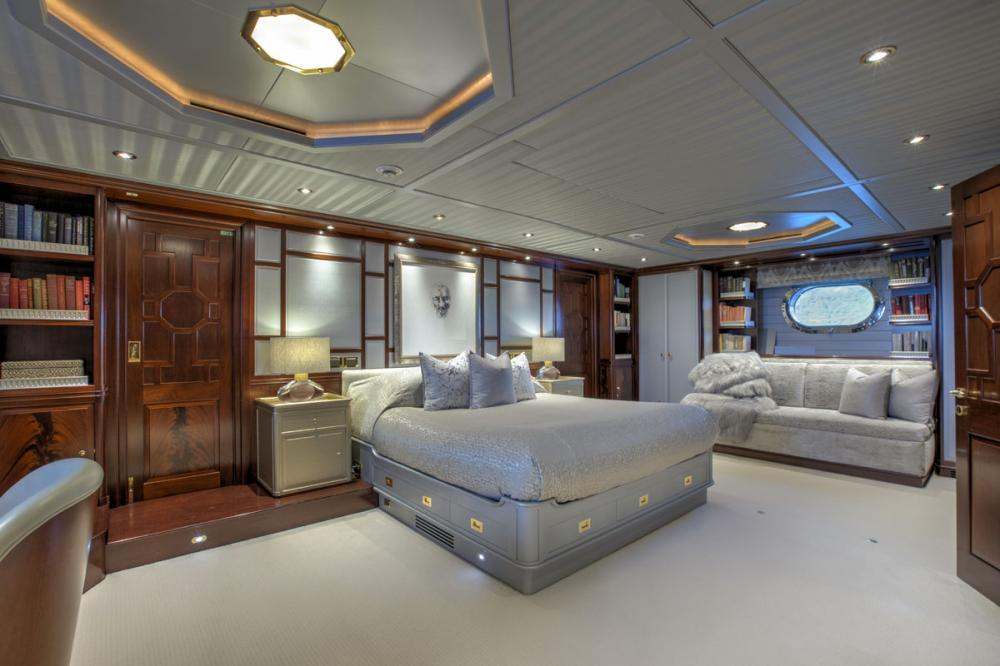 BLUSH - Luxury Sailing Yacht For Charter - 1 MASTER CABIN - Img 1 | C&N