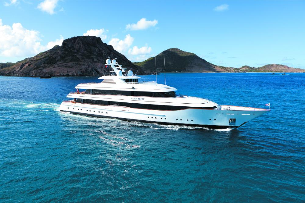 LADY BRITT - Luxury Motor Yacht for Charter | C&N