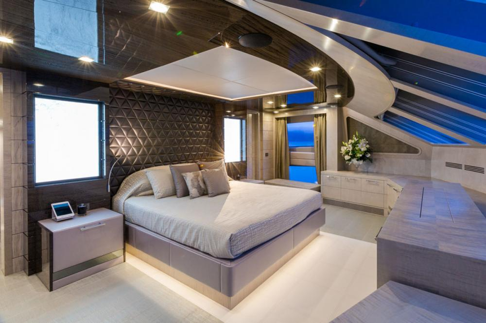 EDESIA - Luxury Motor Yacht For Sale - 1 MASTER CABIN - Img 1 | C&N