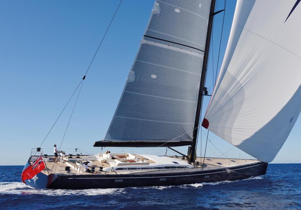 SHAMANNA - Luxury Sailing Yacht for Charter | C&N