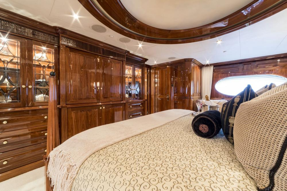 ONE MORE TOY - Luxury Motor Yacht For Sale - 1 MASTER CABIN - Img 3 | C&N
