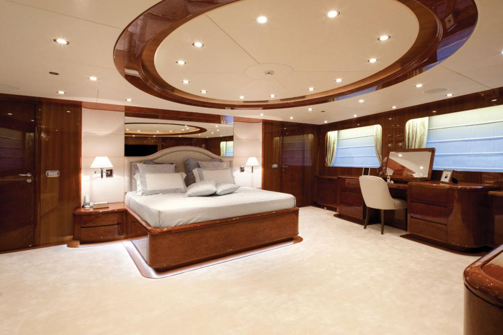 BARON TRENCK - Luxury Motor Yacht For Charter - 1 MASTER CABIN - Img 1 | C&N