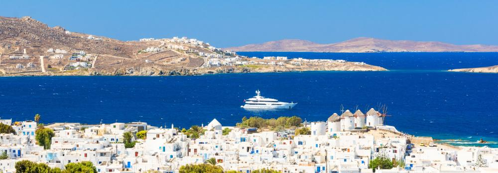 Cyclades - Luxury Yacht Charter Destination in Mediterranean | C&N