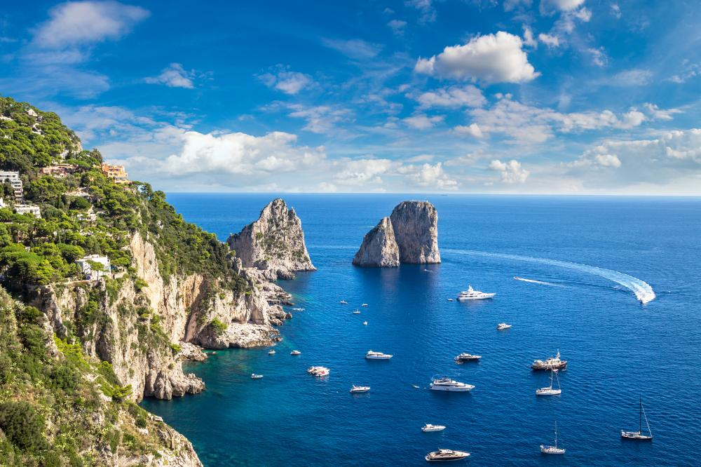 Naples to Naples - Capri - Luxury Charter Itinerary | C&N